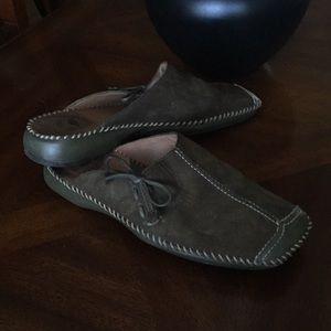 Nurture shoes leather